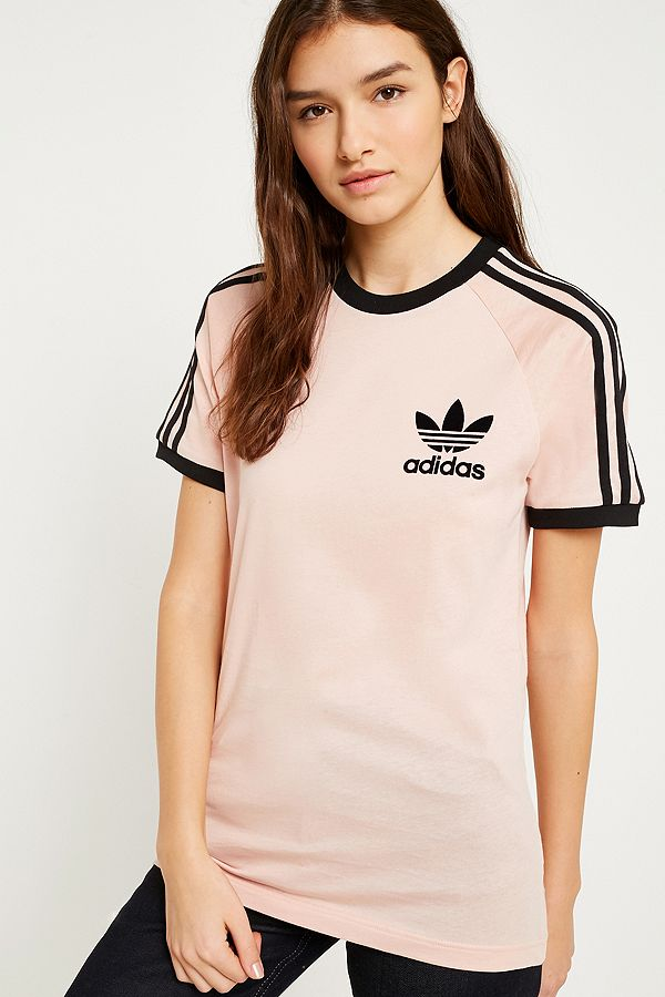 tee shirt adidas rose femme