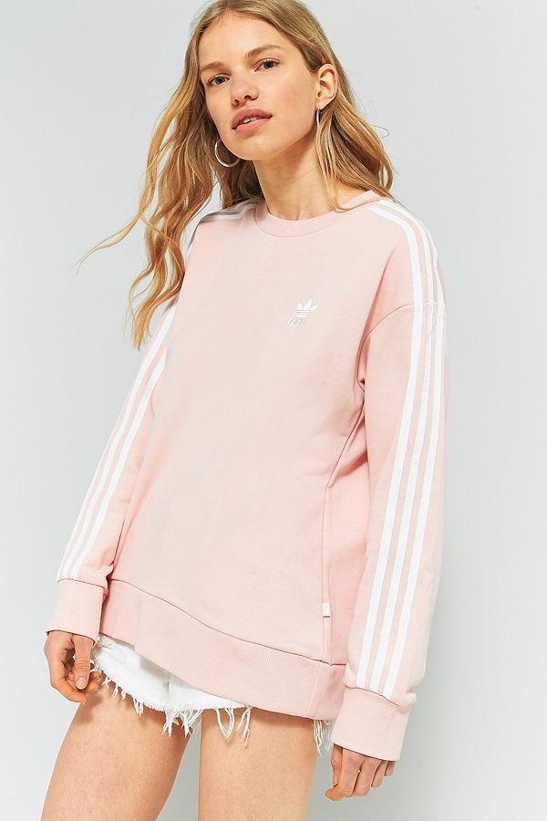 adidas Originals – A Linien Sweatshirt mit 3 Streifen Styling