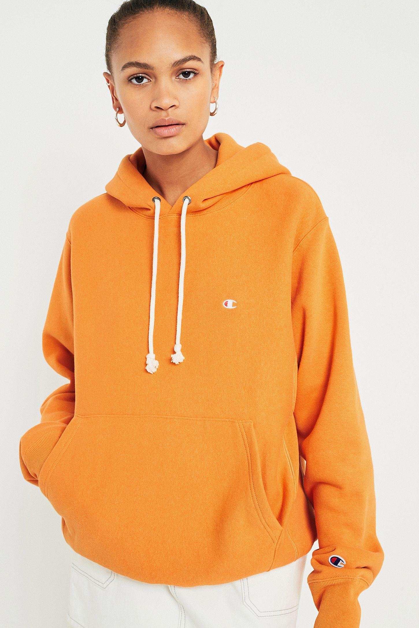 9fa4368eba6b champion reverse weave   eBay. Champion x Urban Outfitters UO Reverse Weave  Rose Hoodie Pullover ...