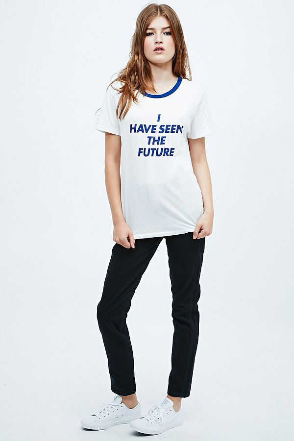 6da6712d Levi's Vintage Clothing I Have Seen The Future Tee in White | Urban ...