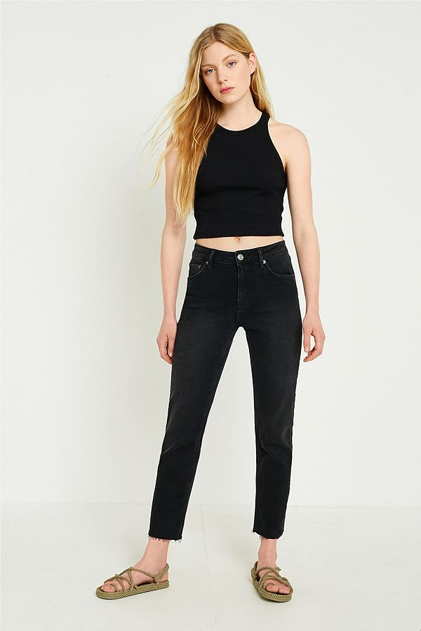 fe1c674969 BDG Axyl Black Slim Straight Jeans | Urban Outfitters UK