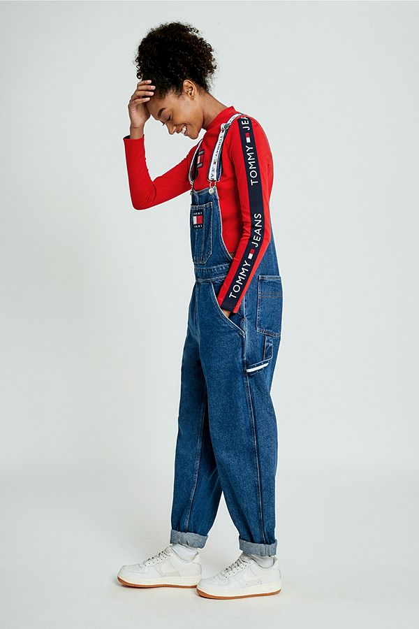 196d8a58aa2 Tommy Jeans  90s Dungarees