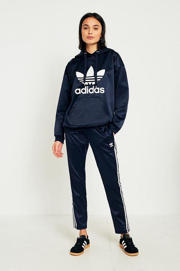 adidas Originals Europa Navy Satin Track Trousers