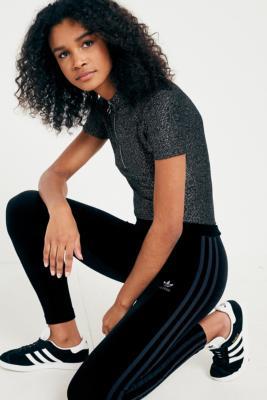 4c3bba852 adidas Originals Velvet Vibes 3-Stripe Leggings