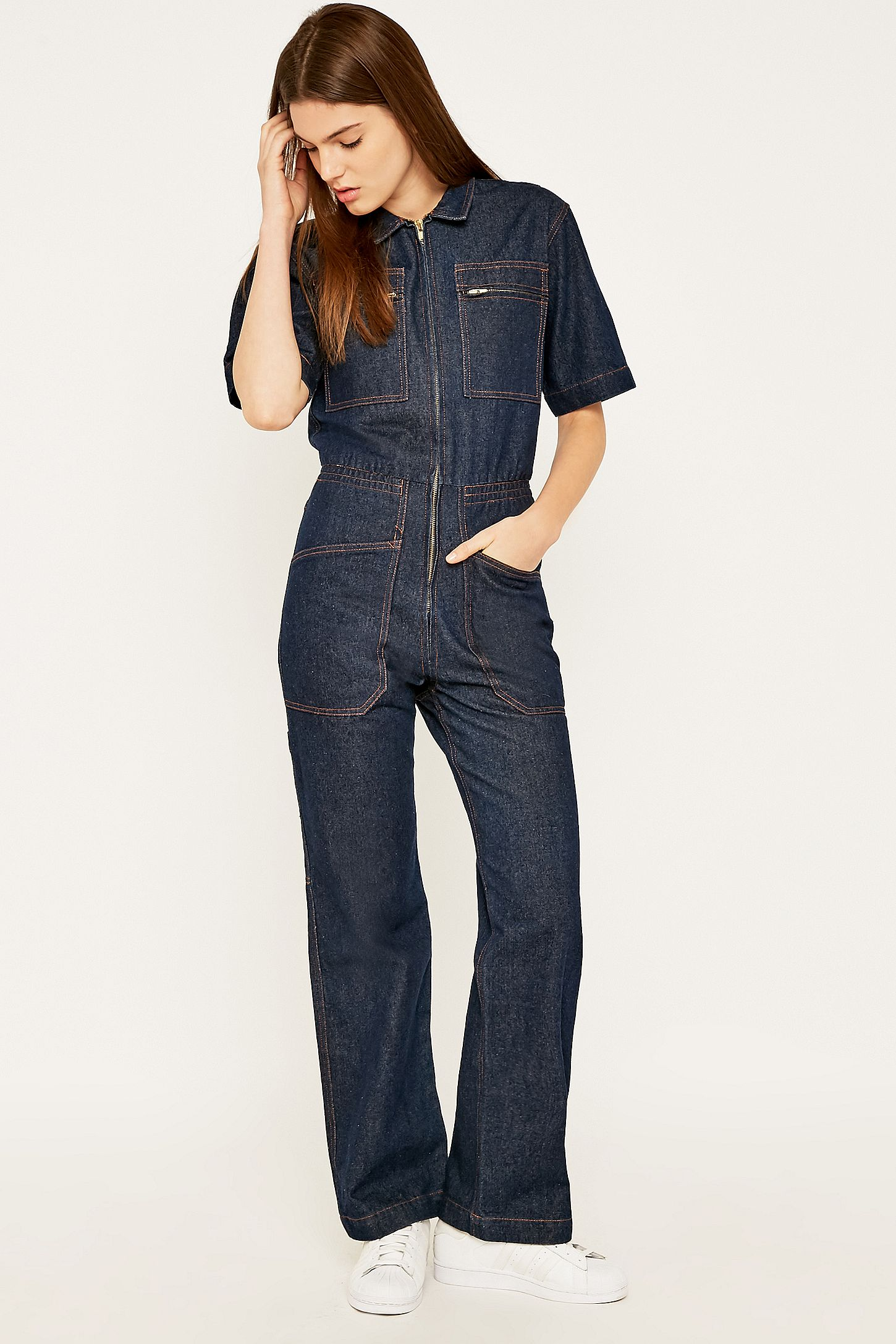 b3dac5789fc LF Markey Danny Blue Denim Boilersuit