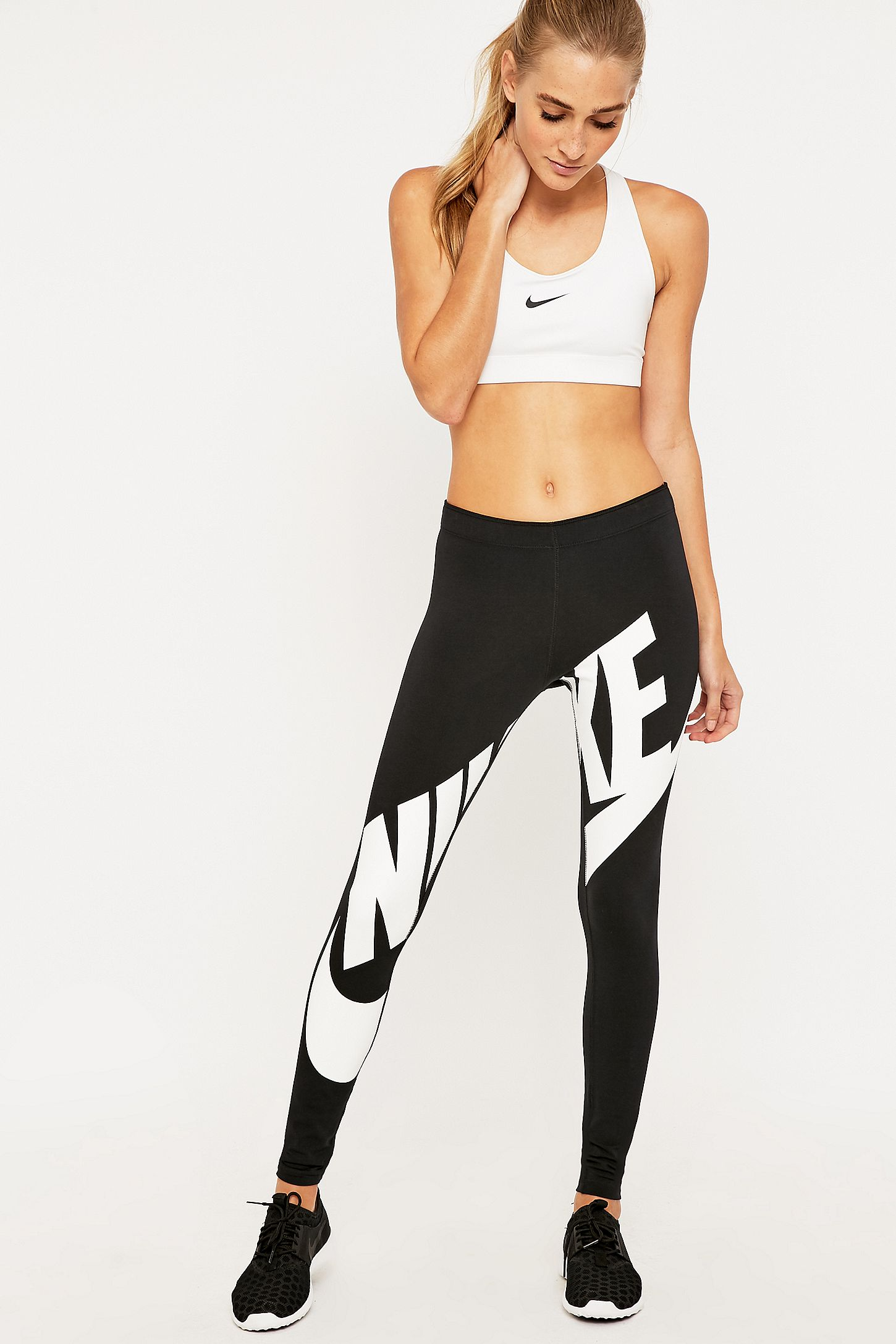 88075b7248351 Nike Leg-A-See Exploded Leggings | Urban Outfitters UK