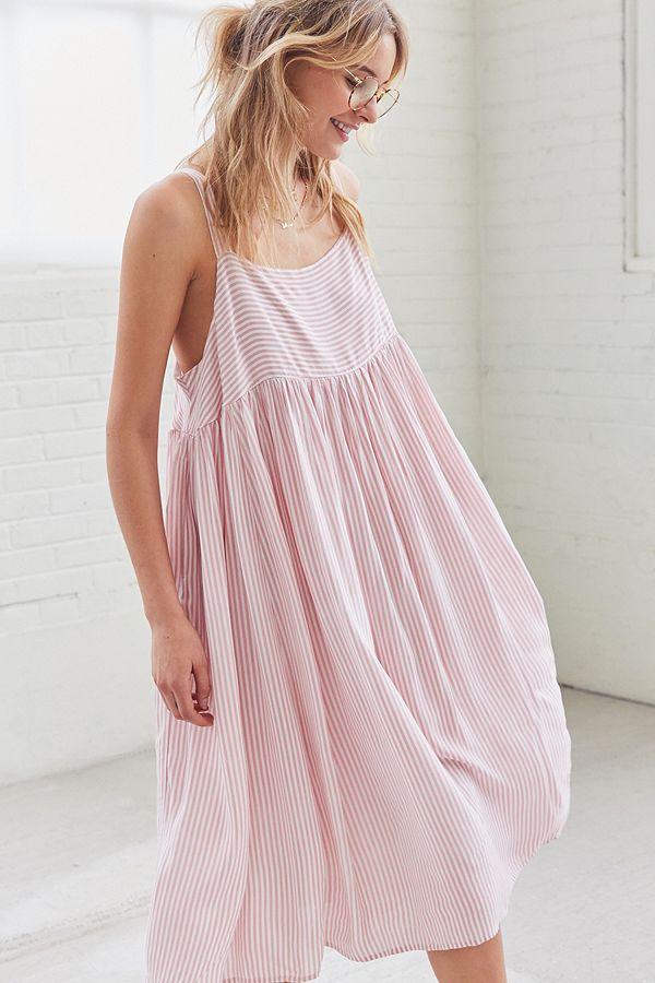 0acc7afc11f Kimchi Blue Fleur Babydoll Midi Dress