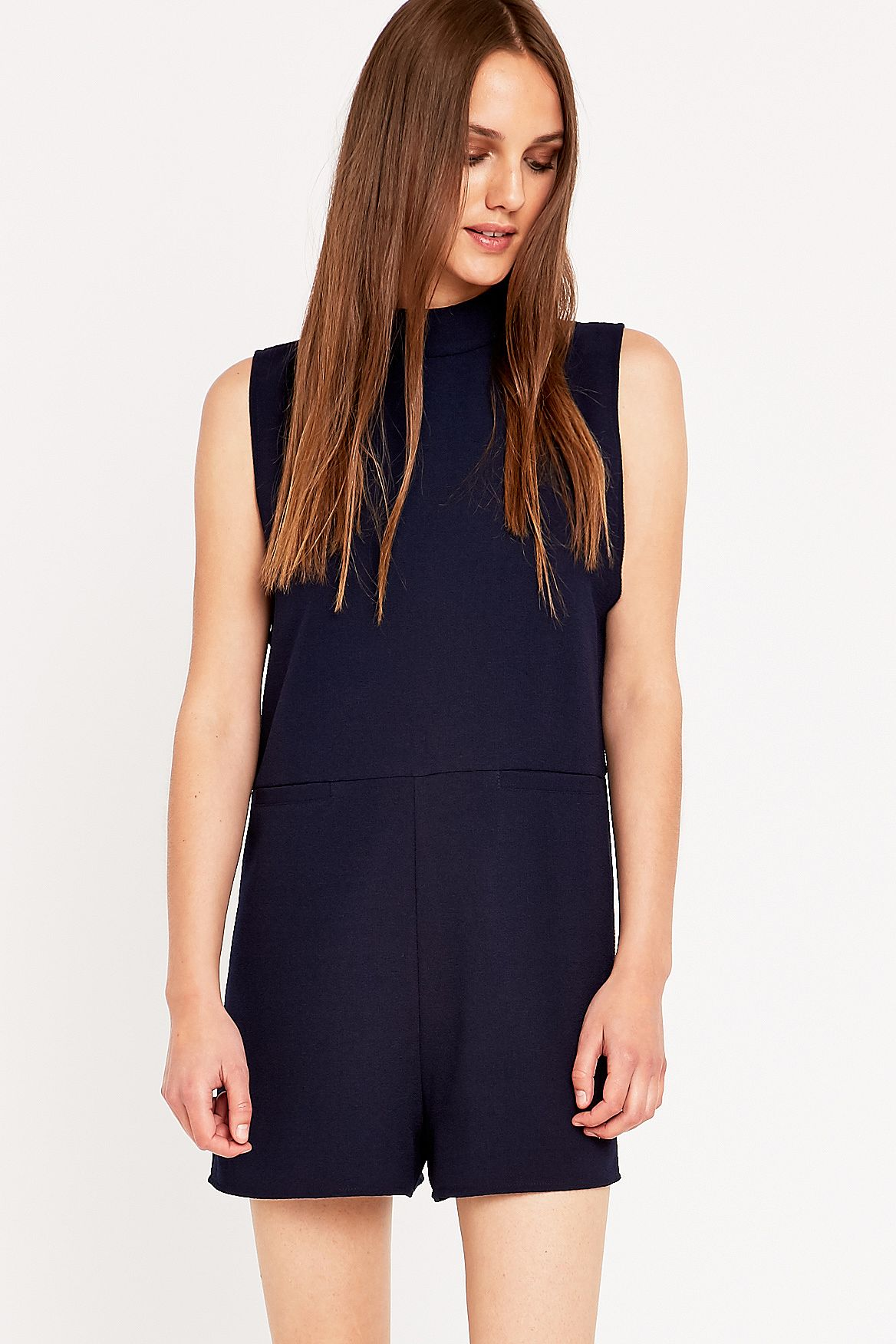 9febb709d8d Light Before Dark Turtleneck Playsuit. Click on image to zoom. Hover to  zoom. Double Tap to Zoom