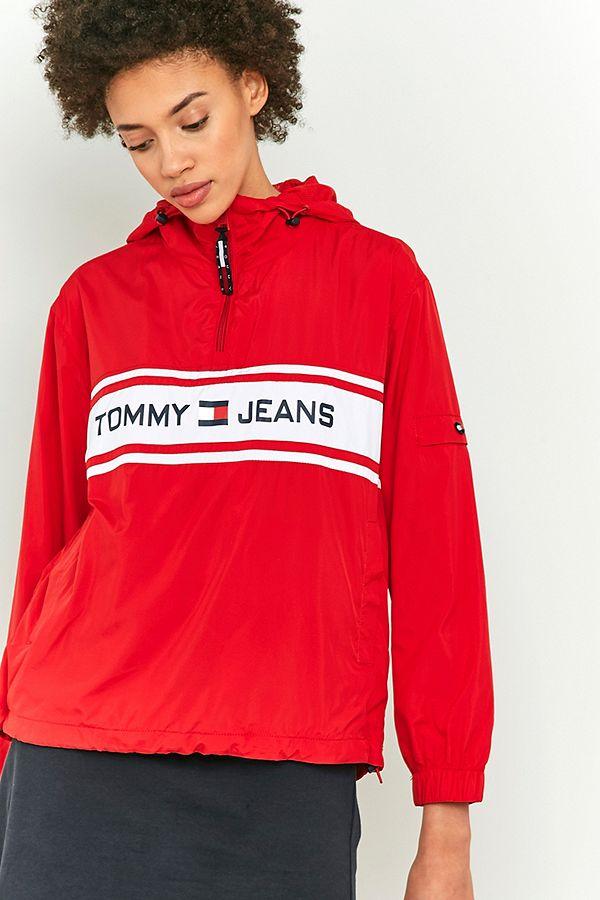 revendeur e5890 a2610 Tommy Jeans - Veste à enfiler style années 90