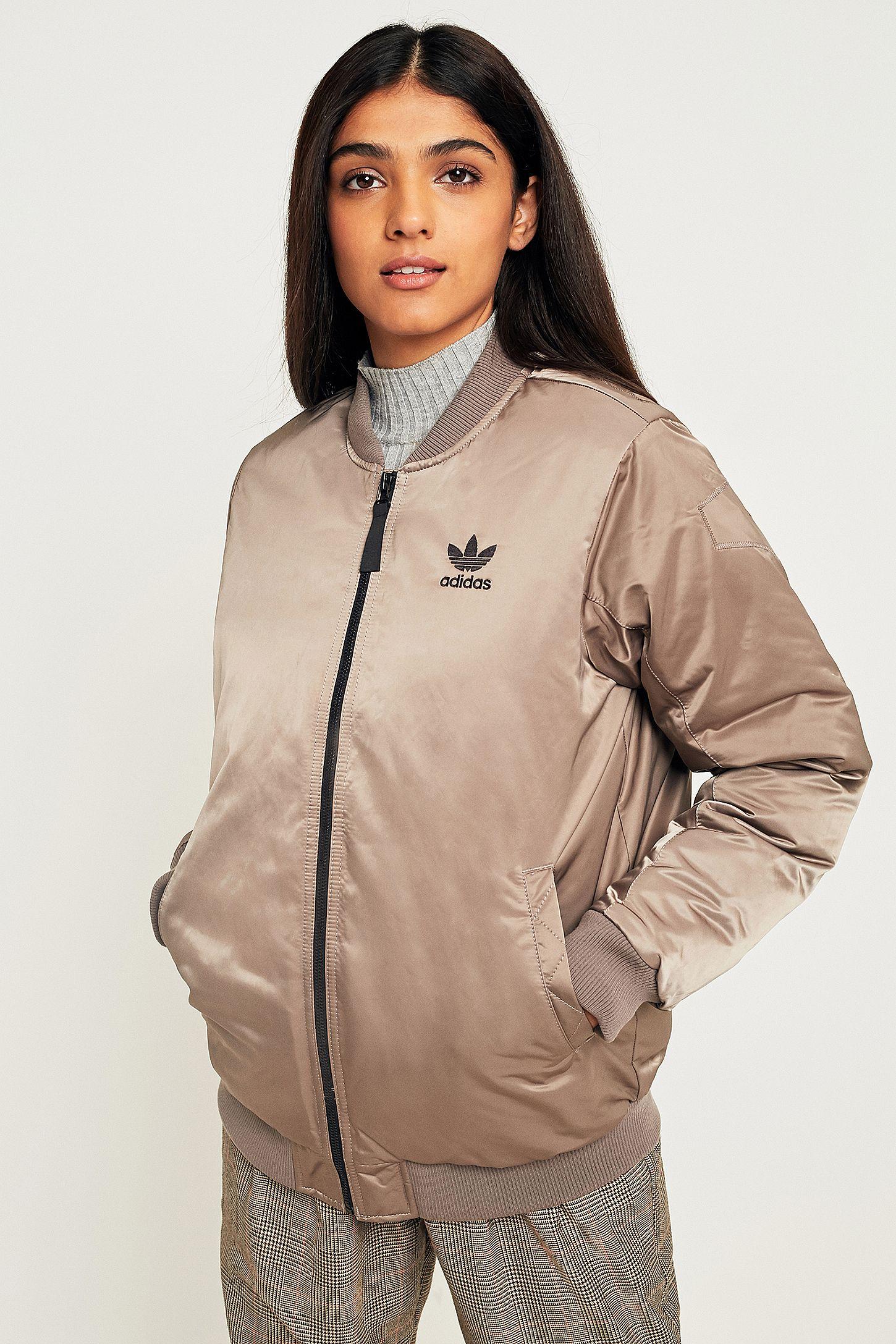 e066db60e58f adidas Originals Pink Bomber Jacket
