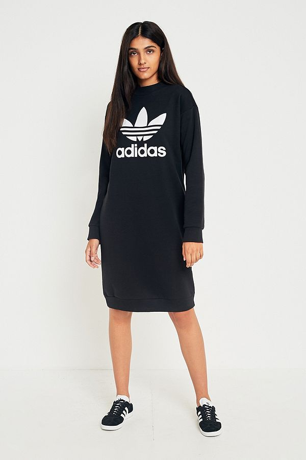 467e7d154f4ec adidas Originals - Robe sweat avec logo trèfle