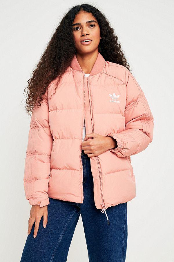 7ec595ba0 adidas Originals SST Pink Down Jacket