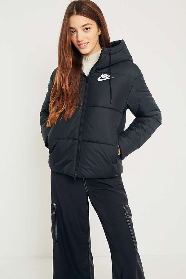 c000dfc6a557 Nike Black Quilted Puffer Jacket