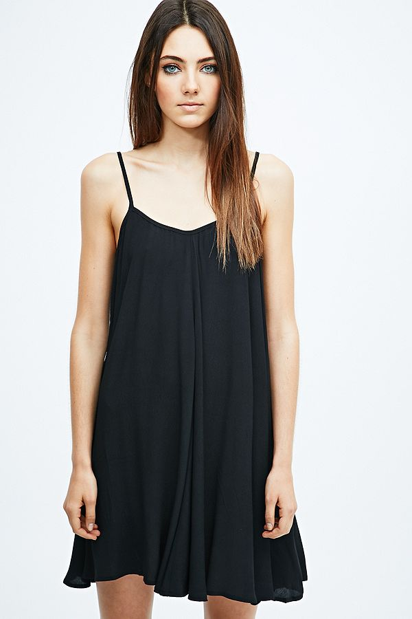 1e40f7c2f Minkpink Spin Around Slip Dress in Black | Urban Outfitters UK