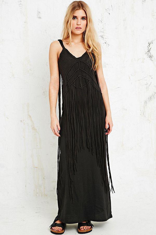 24995838a0 Denim   Supply Ralph Lauren Macrame Maxi Dress