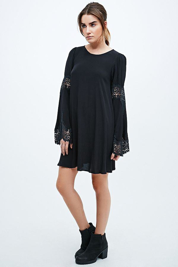 a137e5b3c91 Your Urban Outfitters Gallery. For Love   Lemons Festival Dress in Black
