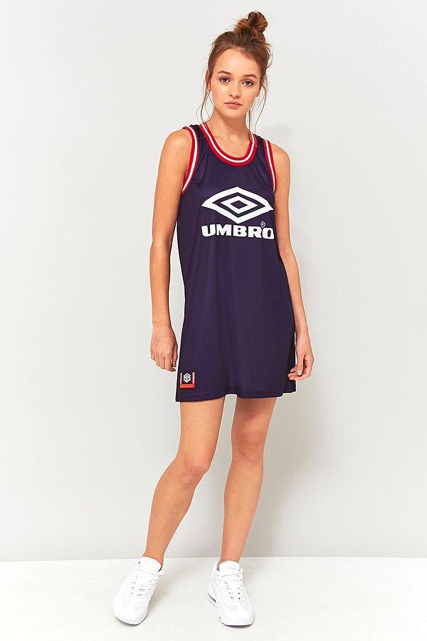 b1ff2f26a5 Umbro Logo Jersey Tank Dress | Urban Outfitters UK