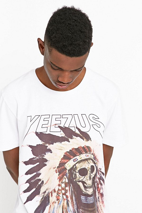 14032f6e275f Kanye West Yeezus Tee in White | Urban Outfitters UK