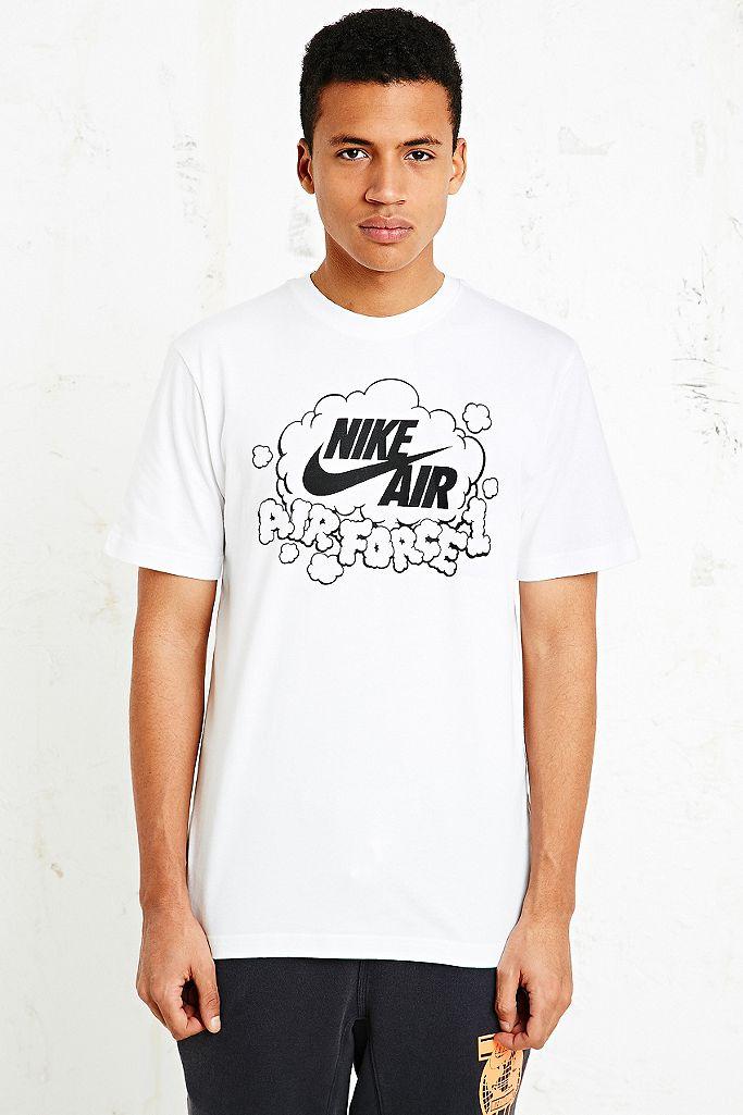 Nike Air Force 1 Hoodie in Grey | Urban Outfitters DE