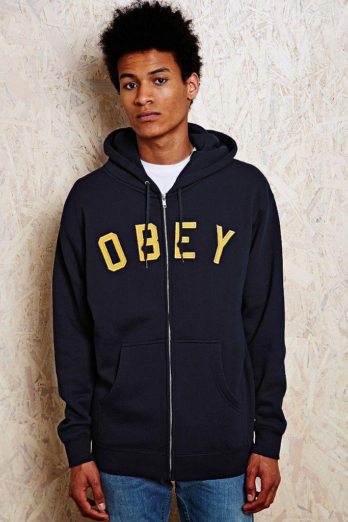 Obey Sweat à capuche avec logo appliqué | Urban Outfitters FR