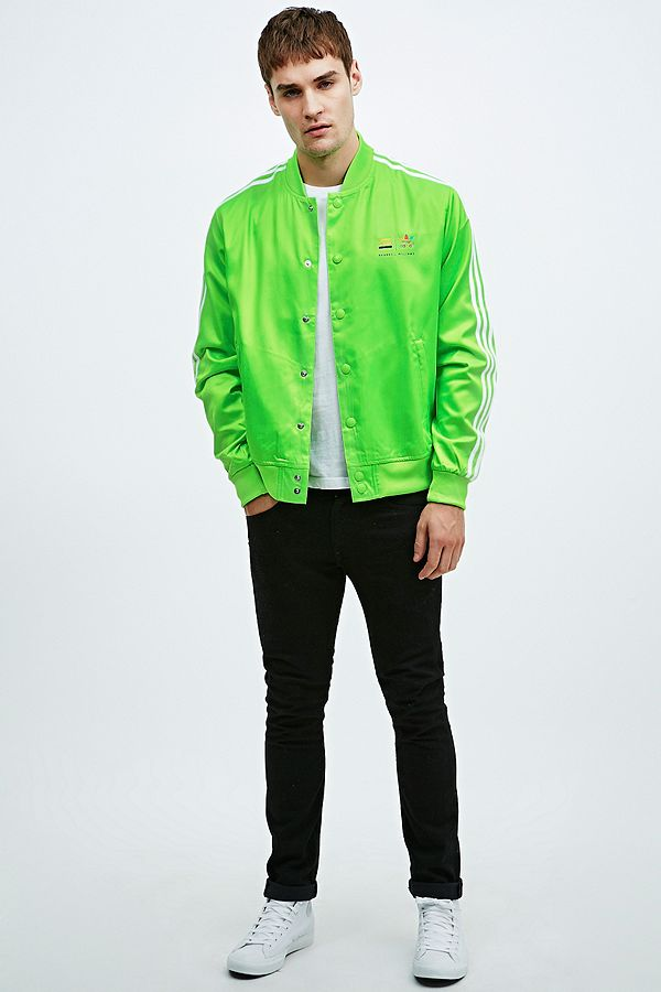 prix d'usine 5fb60 01f06 Adidas Originals x Pharrell Williams Track Jacket in Solar ...