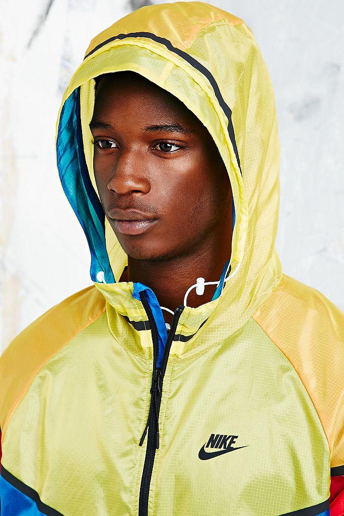 Nike Hyper Windbreaker Jacket in Tri Colour | Urban