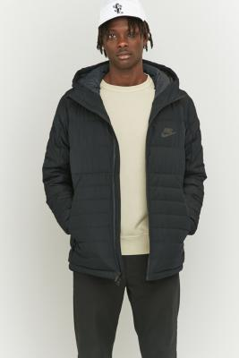 nike down filled hooded jacket