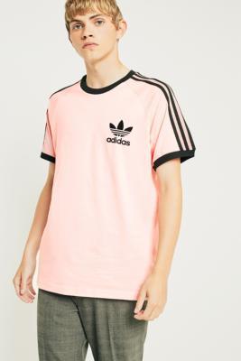 adidas california pink t shirt