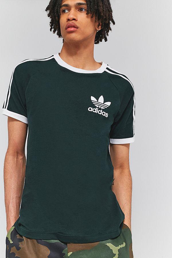 764a7b497 adidas California Green Night T-shirt | Urban Outfitters UK