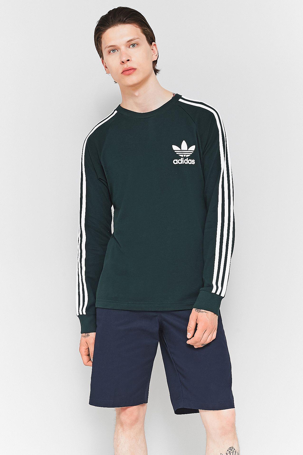 adidas California Green Night Pique Long Sleeve T shirt