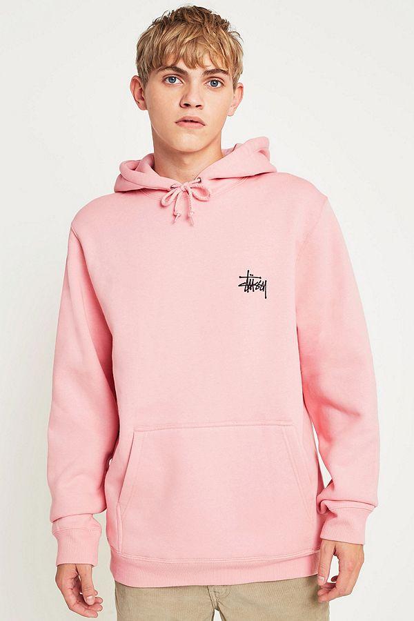 hoodie homme rose