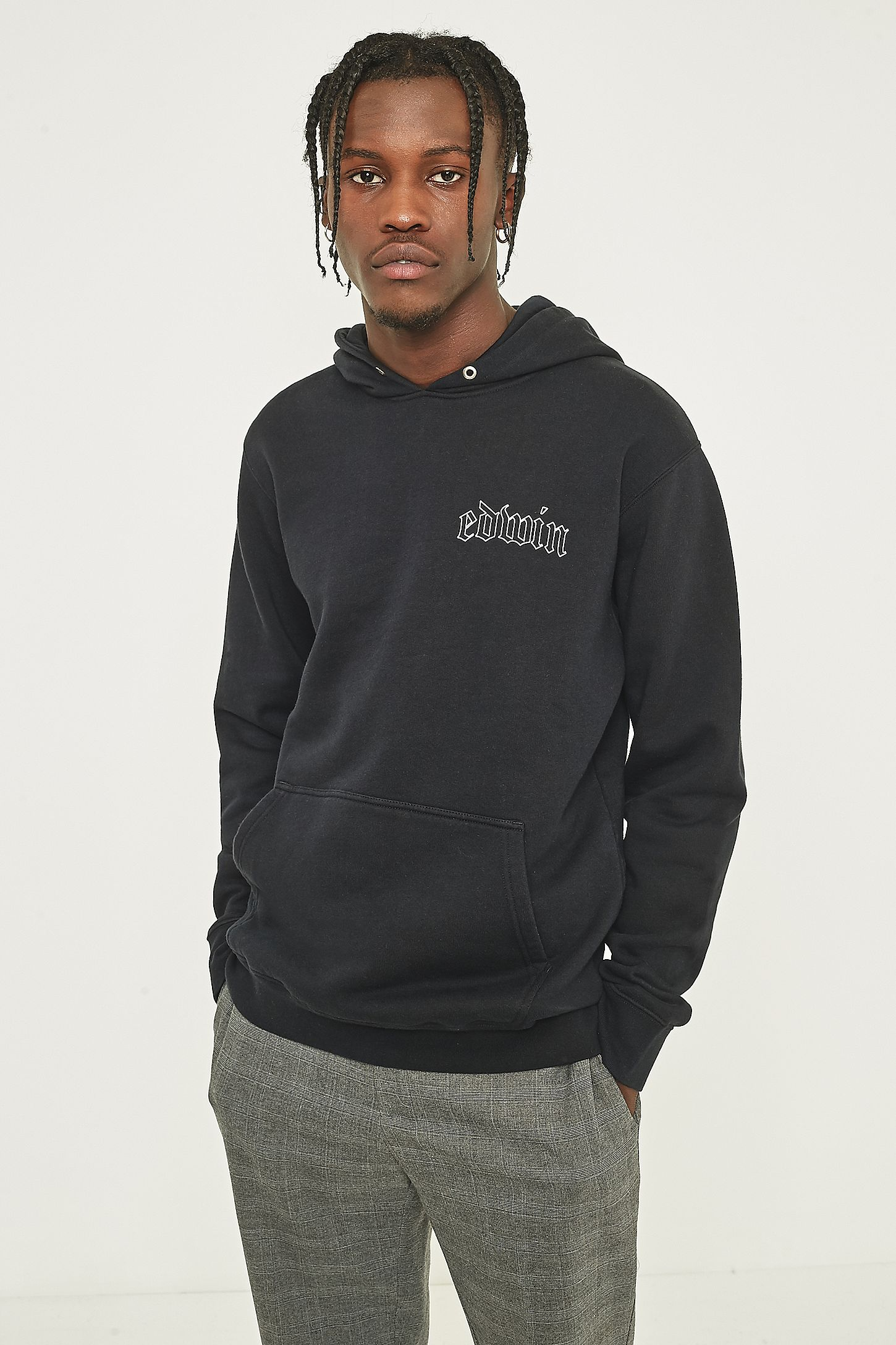 fc392e1fd67f Edwin Best or Nothing Black Hoodie. Click on image to zoom. Hover to zoom.  Double Tap to Zoom