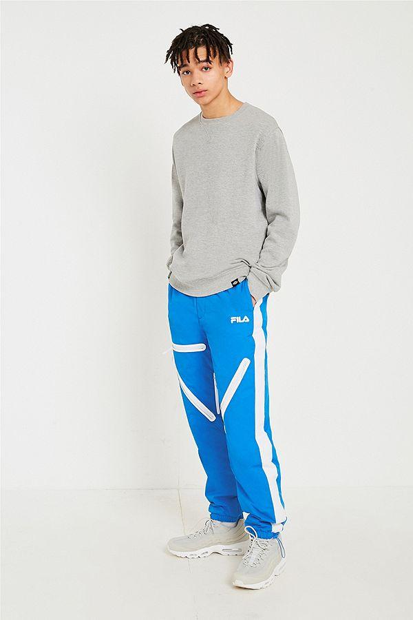489d4a77d0 FILA Blue Nylon Ski Pants | Urban Outfitters UK
