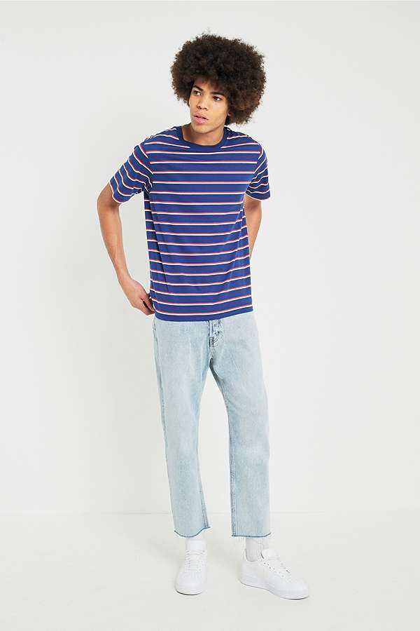 fc89001d8eb8c Cheap Monday '90s Blue In-Law Cropped Jeans