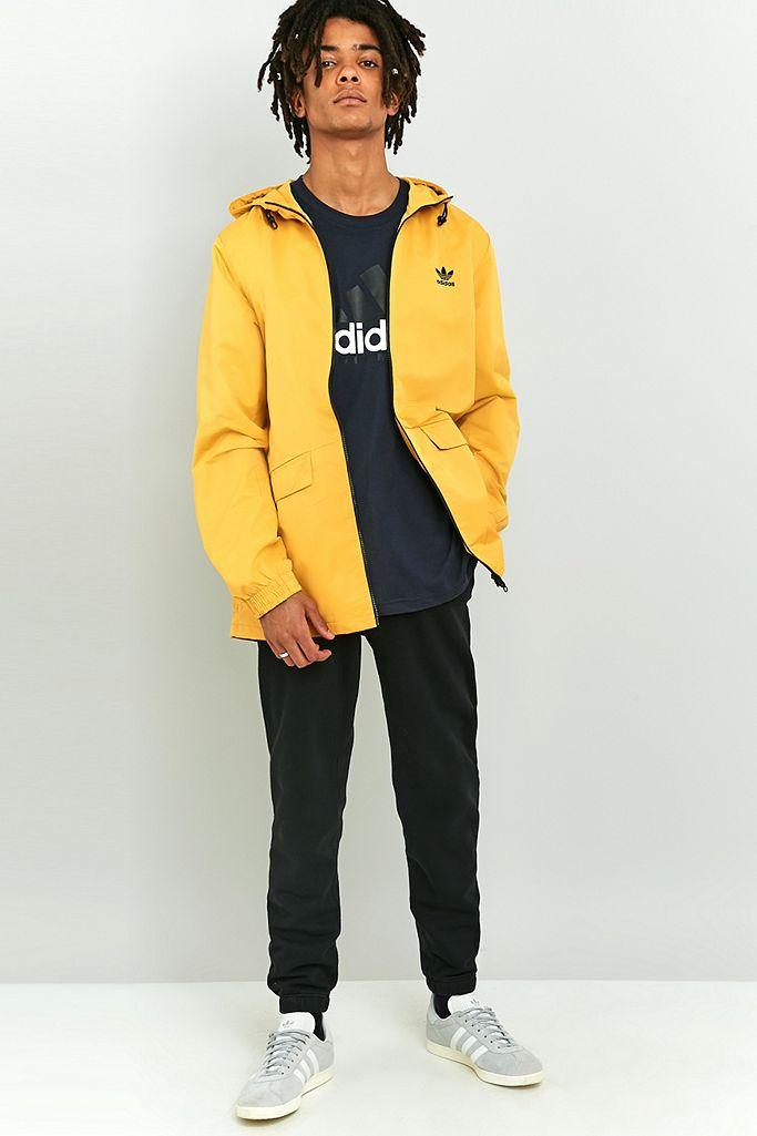 adidas Originals Shadow Tones Yellow Windbreaker | Urban