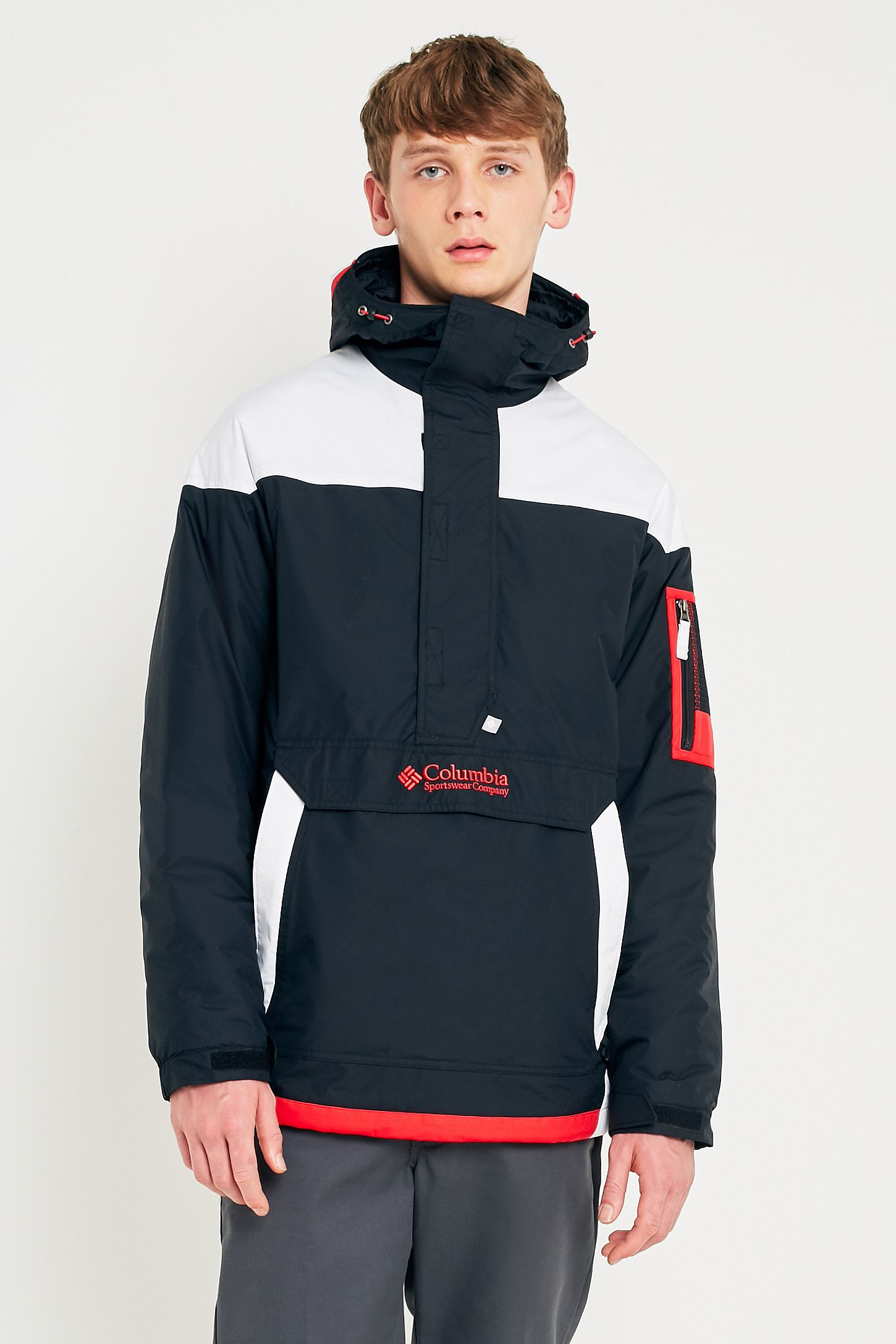 0657542e79d Columbia Challenger Black and Red Jacket