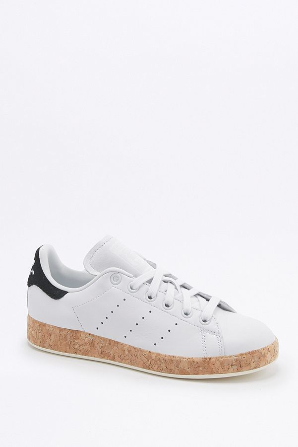 new styles 2df5f 6a24a adidas Originals Stan Smith Cork Sole White Trainers | Urban ...
