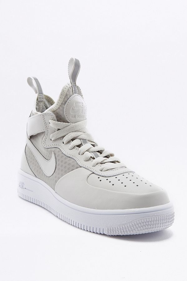 Air Trainers Light Force Nike 1 High Top White E29YeHbIWD