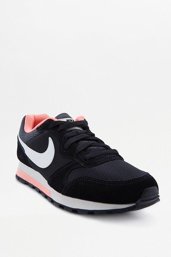 05cb6b5d33ed Nike MD Runner Black and Pink Trainers