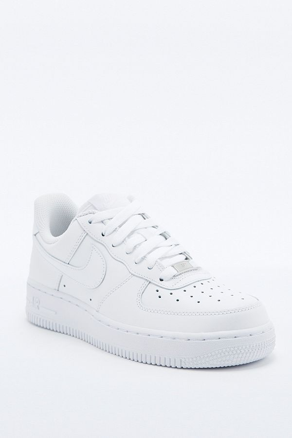 Nike Air Force 1 White Trainers | Urban Outfitters UK