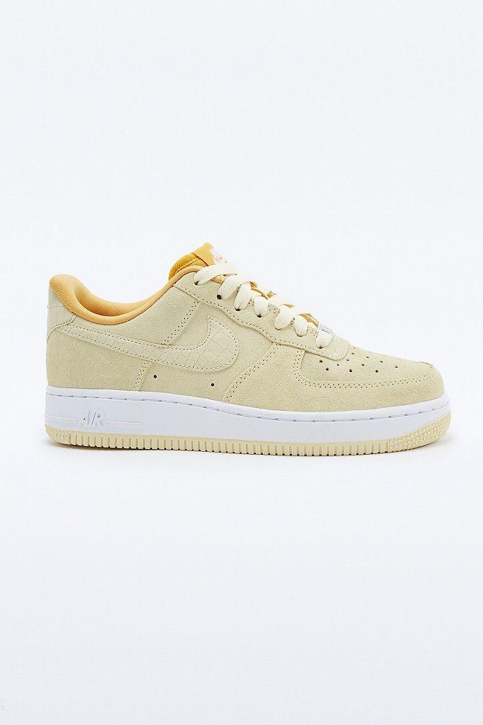 air force 1 jaune daim