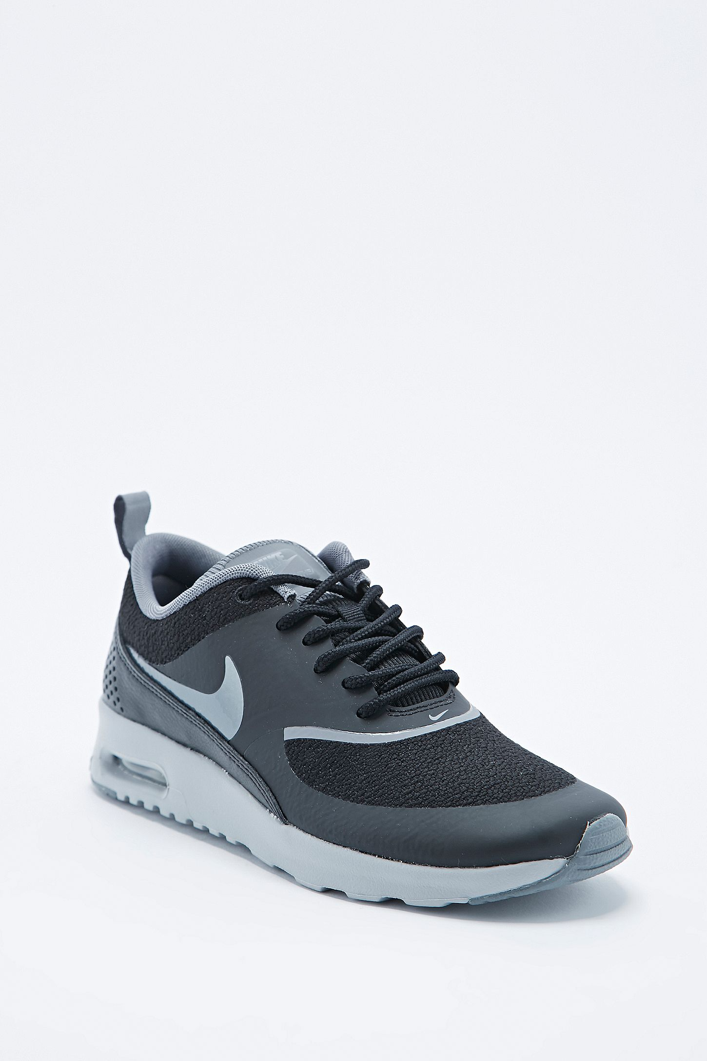 b5eed8f9bdcf Nike Air Max Thea Trainers in Black and Silver