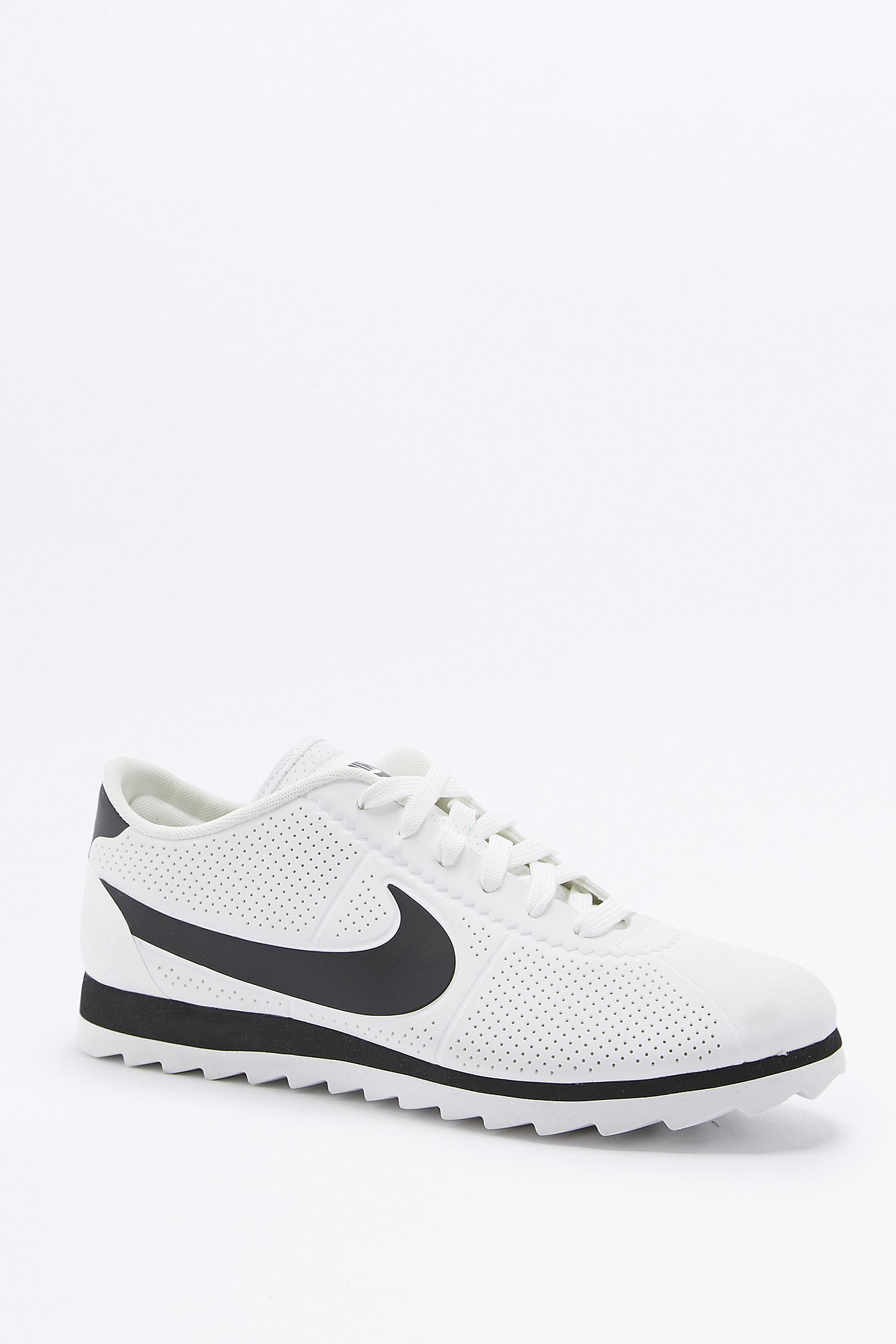 sports shoes 92622 d43e2 Nike Cortez Ultra Moire White and Black Trainers. Click on image to zoom.  Hover to zoom. Double Tap to Zoom