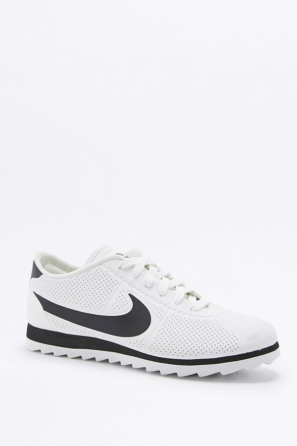 quality design 0af79 526ed Nike Cortez Ultra Moire White and Black Trainers