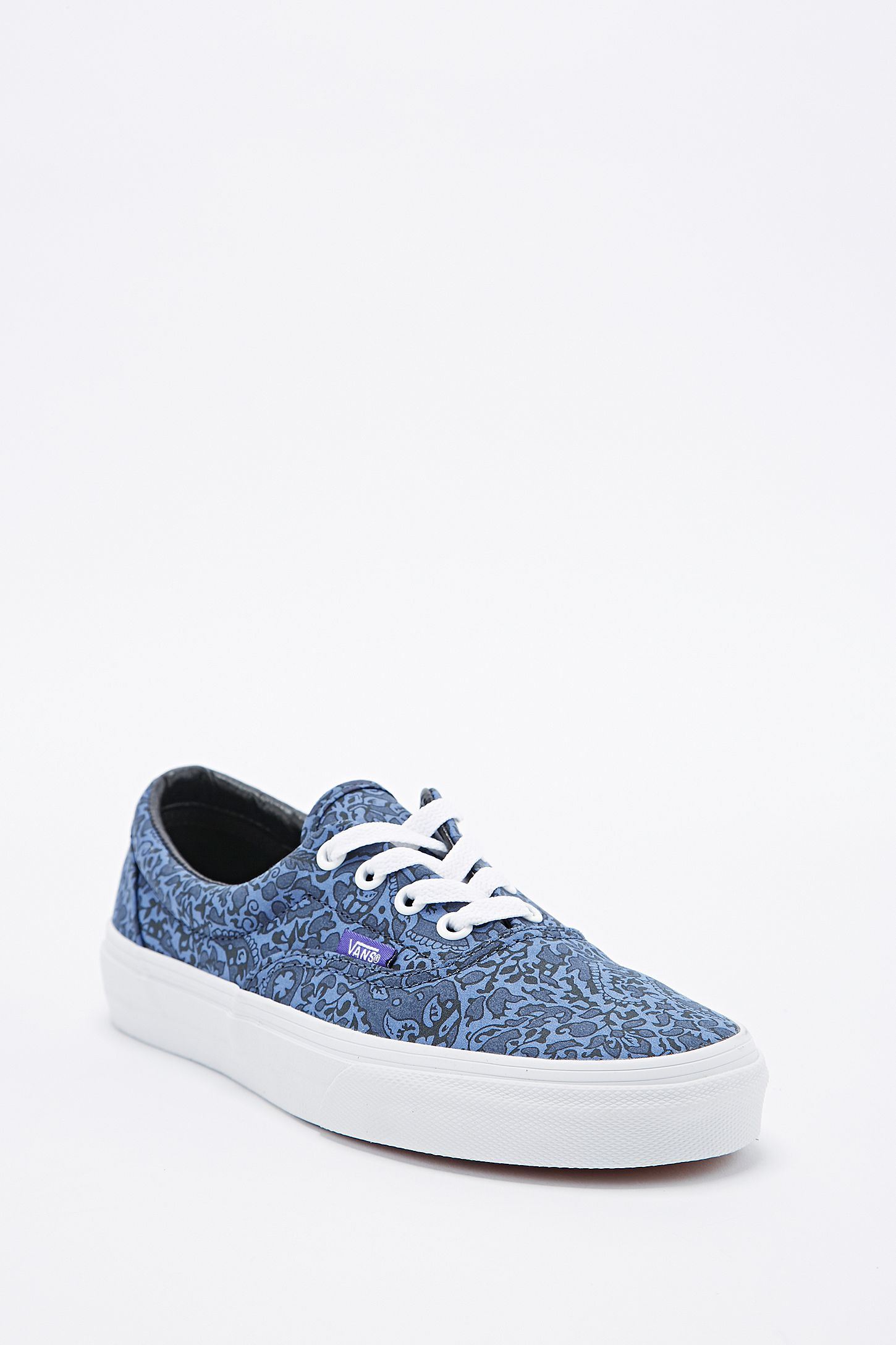 06fb7e748bd57b Vans X Liberty Era Trainers in Navy Paisley