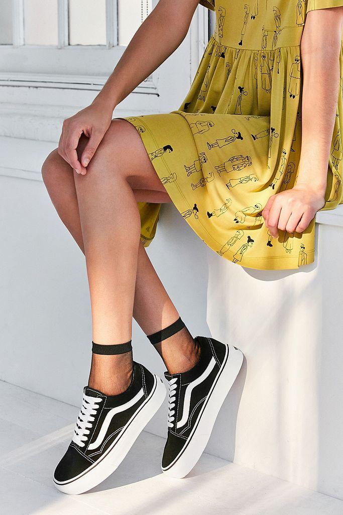 Vans Baskets Old Skool à plateforme | Urban Outfitters FR
