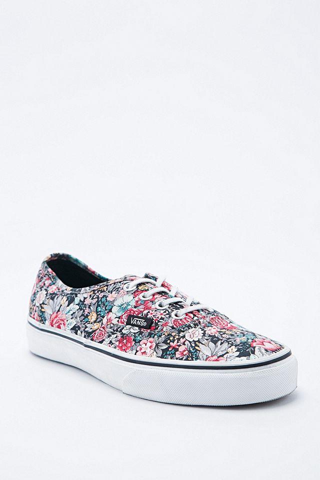 Vans - Baskets Authentic à fleurs | Urban Outfitters FR
