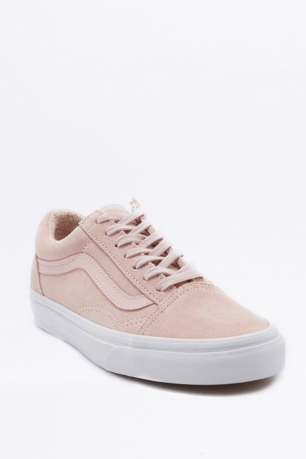 "Vans – Sneaker ""Old Skool"" aus Wildleder in Rosa"