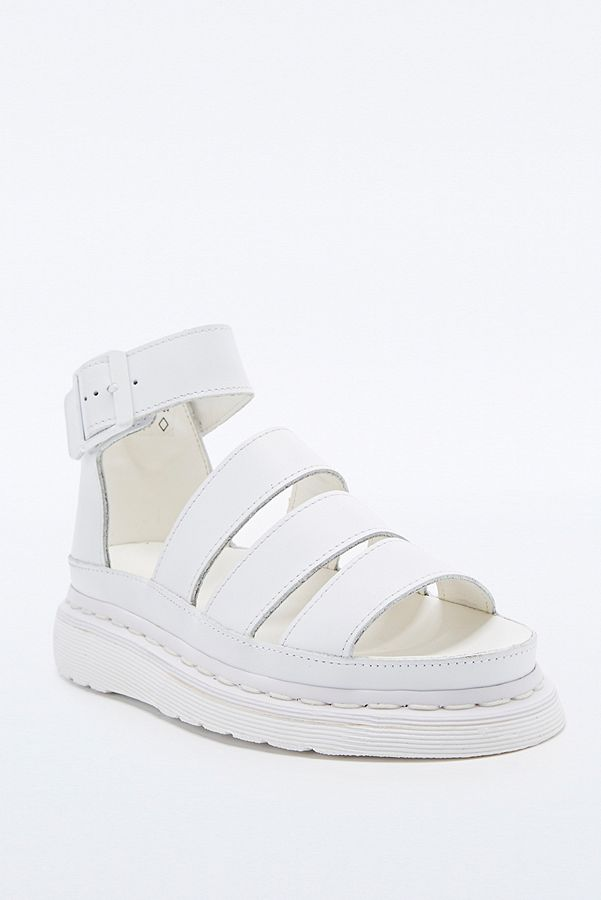 Dr. Martens Clarissa Sandal Shoes in White