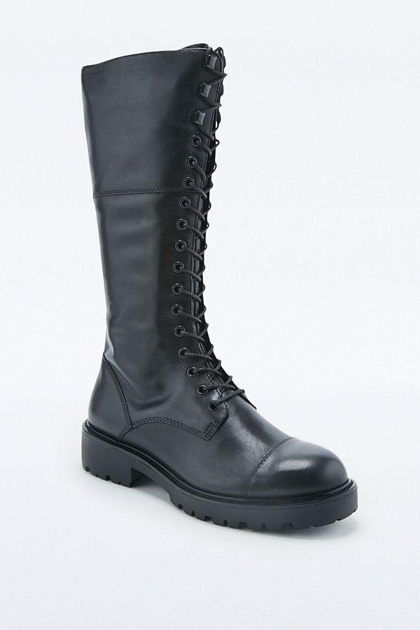 48463669cdf Vagabond Kenova Lace-Up Knee High Boots